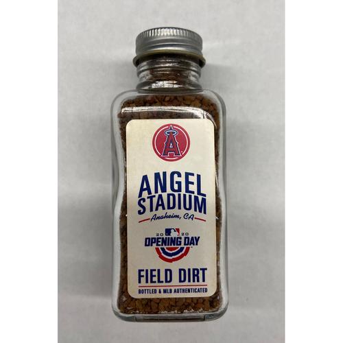 Photo of 2020 Opening Day Game-Used Dirt Jar - Angel Stadium