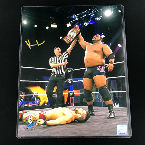 Photo of Keith Lee SIGNED In Your House 2020 11x14 Photo (Random Number)