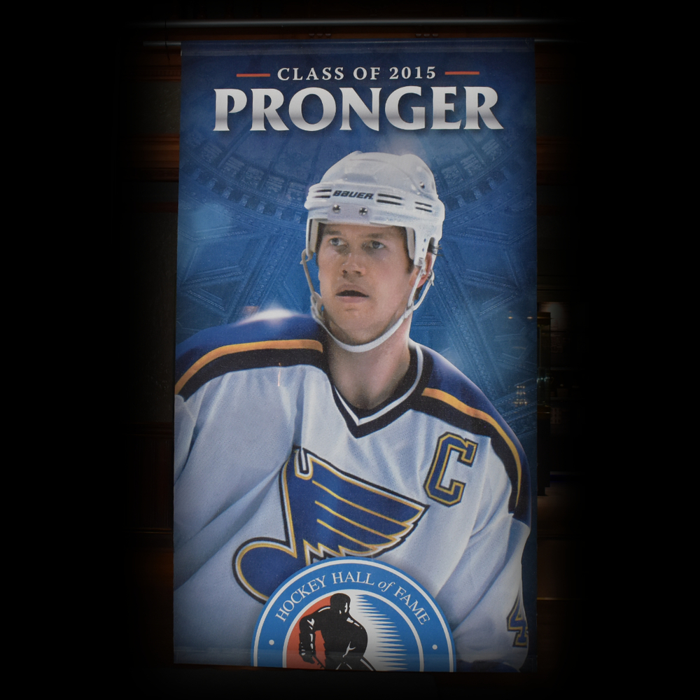 Chris Pronger Hockey Hall of Fame Class of 2015 Banner (5ft x 9ft) - Limited Edition 1/1