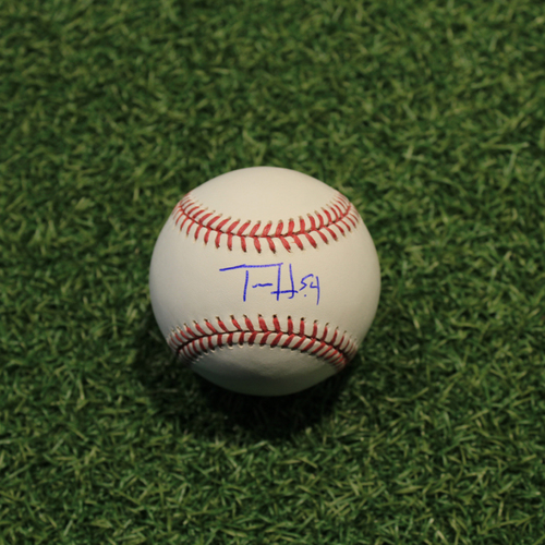 Photo of Autographed Baseball: Tim Hill