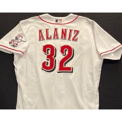 R.J. Alaniz -- 2020 Home White Jersey -- Team Issued -- Size 48