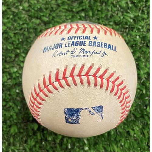 Photo of Avisail Garcia Hit Single Baseball off Charlie Morton - 10/12/21- NLDS Game 4, Braves Win NLDS