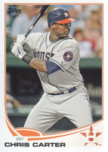 Photo of 2013 Topps #607 Chris Carter