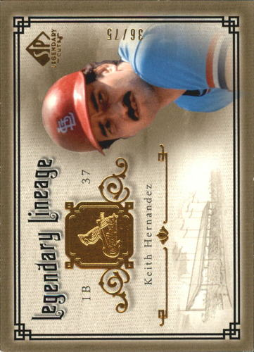 Photo of 2005 SP Legendary Cuts Legendary Lineage Gold #KH Keith Hernandez