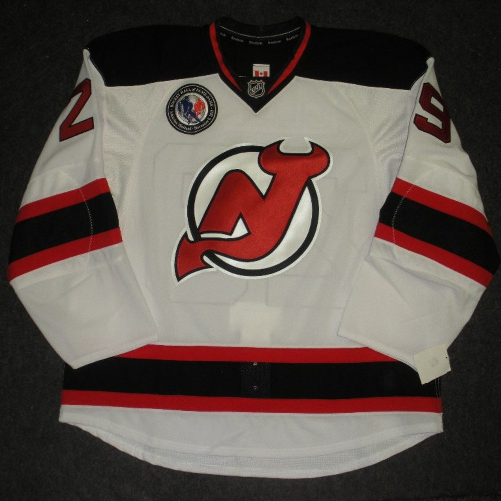 #29 Ryan Clowe - New Jerseys Devils - Hockey Hall of Fame Game - Game-Issued Jersey