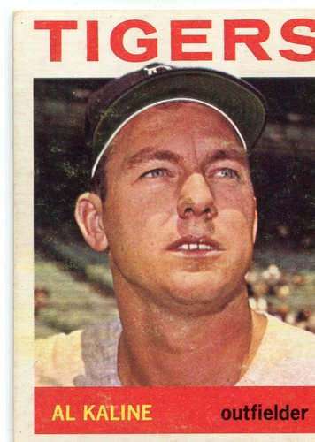 Photo of 1964 Topps #250 Al Kaline -- Hall of Fame Class of 1980