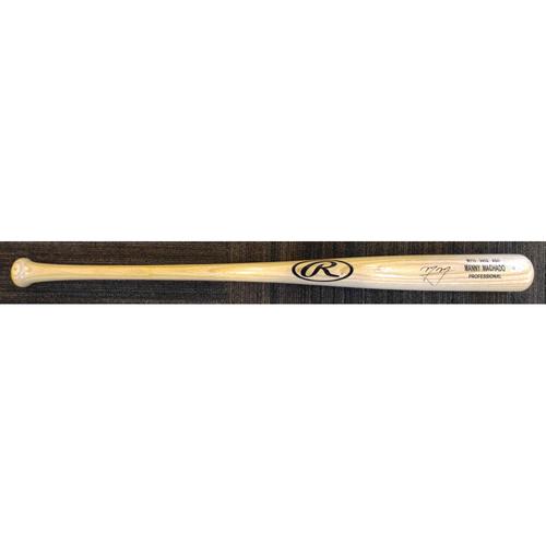 Manny Machado - Autographed Game-Model Bat