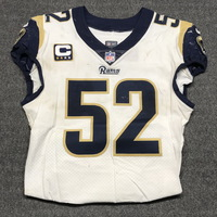 LONDON GAMES - RAMS ALEC OGLETREE GAME WORN RAMS JERSEY (OCTOBER 22, 2017) SIZE 42