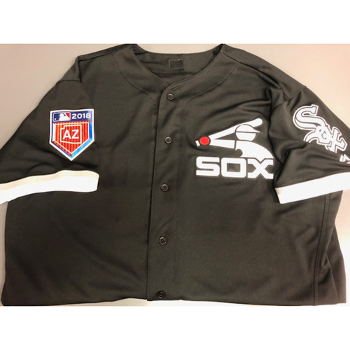 Photo of Mark Salas Team-Issued 2018 Spring Training Jersey - Not MLB Authenticated Size 50