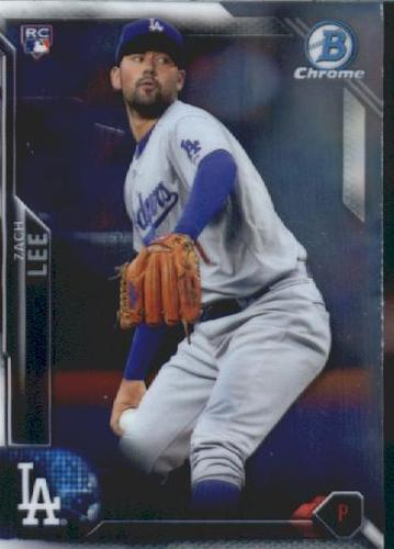 Photo of 2016 Bowman Chrome Vending '16 Bowman #138 Zach Lee