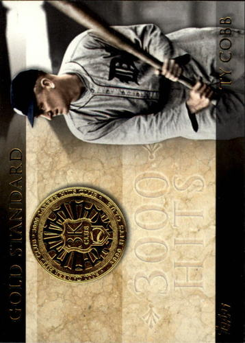 Photo of 2012 Topps Gold Standard #GS15 Ty Cobb