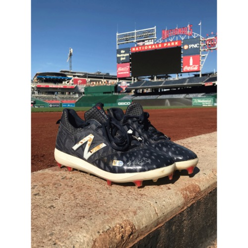 Photo of Adam Eaton Autographed Pair of Cleats