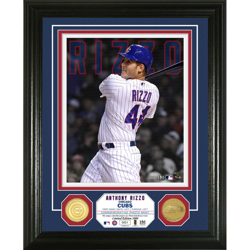 Photo of Anthony Rizzo Bronze Coin Photo Mint