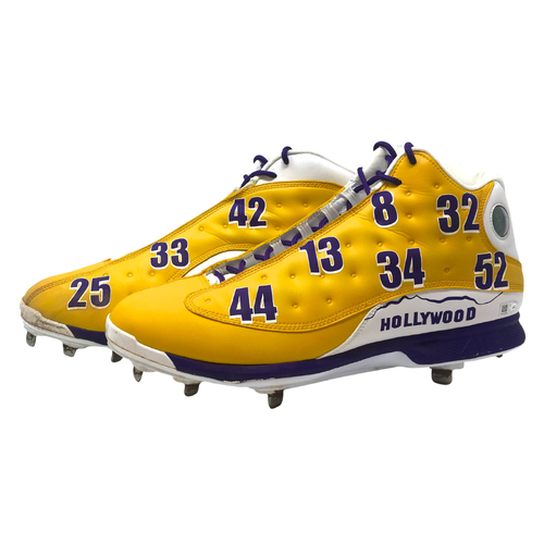 Photo of Kenley Jansen Game Used Lakers Cleats - Size 14