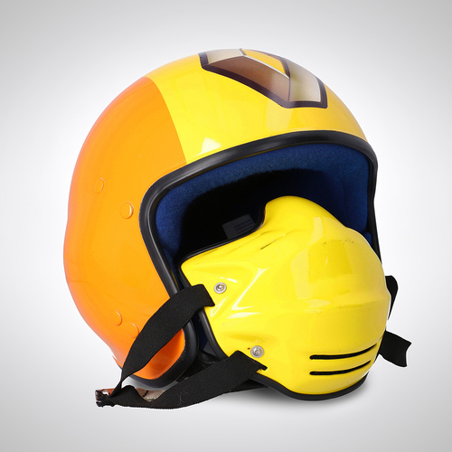 Photo of Renault F1 Team 2007 Pit Crew Helmet with Mask