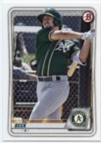 Photo of 2020 Bowman Prospects #BP16 Austin Beck