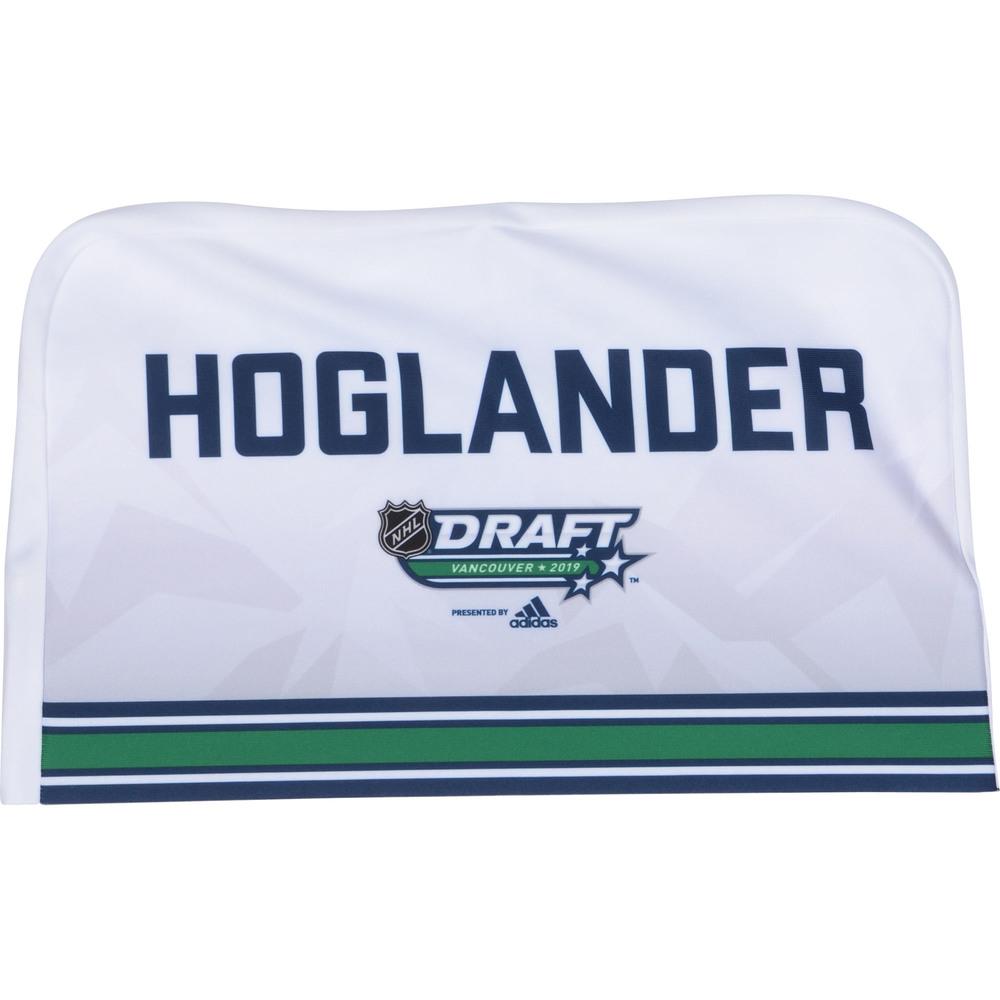 Nils Hoglander Vancouver Canucks 2019 NHL Draft Seat Cover - Second set (Not Used)