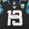 London Games - Jaguars Mike Sims-Walker Game Used Jersey (11/3/19) Size 38 with 25 Seasons Patch