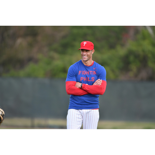 """Photo of """"Koffee with Kapler"""" with Phillies Manager Gabe Kapler"""