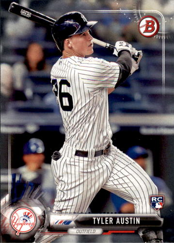 Photo of 2017 Bowman #86 Tyler Austin Rookie Card -- Yankees post-season