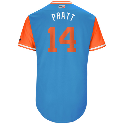 "Photo of Martin ""Pratt"" Prado Miami Marlins 2017 Team-Issued Players Weekend Jersey"