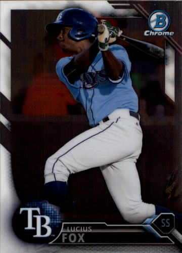 Photo of 2016 Bowman Chrome Draft #BDC200 Lucius Fox