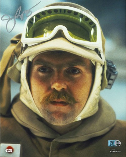 PREORDER John Ratzenbeger As Major Bren Derlin 8X10 Autographed in Blue Ink Photo
