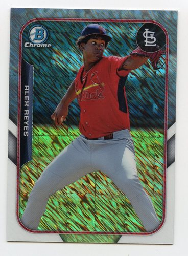 Photo of 2015 Bowman Chrome Farm's Finest Minis #FFMARE Alex Reyes