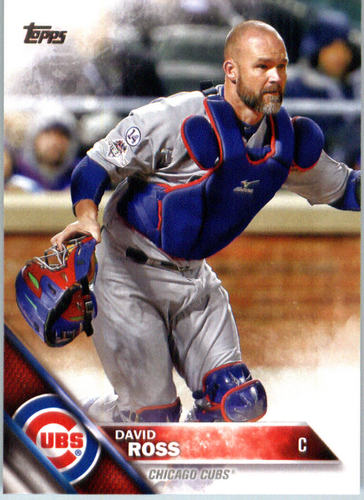 Photo of 2016 Topps #441 David Ross