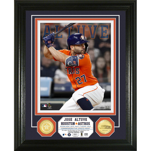 Photo of Jose Altuve Bronze Coin Photo Mint