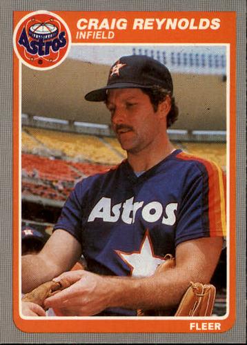 Photo of 1985 Fleer #357 Craig Reynolds
