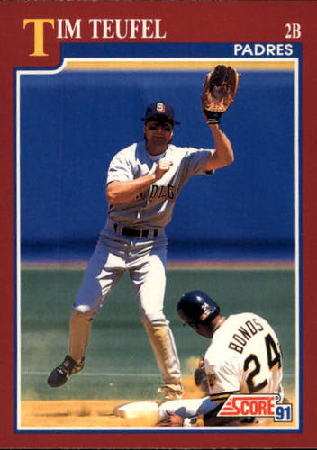 Photo of 1991 Score Rookie/Traded #67T Tim Teufel