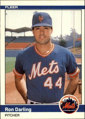 Photo of 1984 Fleer Update #29 Ron Darling XRC