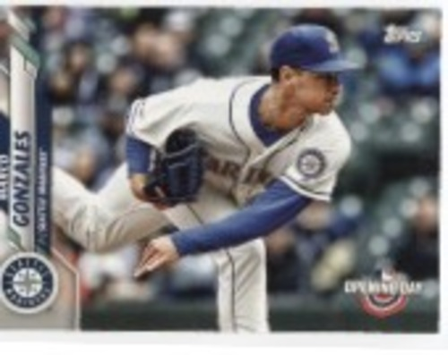 Photo of 2020 Topps Opening Day #91 Marco Gonzales