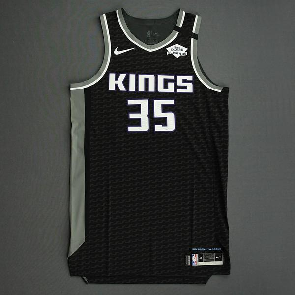 Image of Marvin Bagley III - Sacramento Kings - Game-Issued Statement Edition Jersey - 2019-20 NBA Season Restart with Social Justice Message