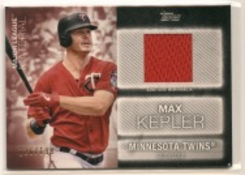 Photo of 2020 Topps Major League Materials Black #MLMMK Max Kepler