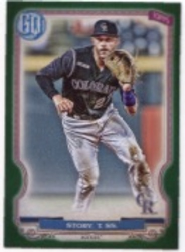 Photo of 2020 Topps Gypsy Queen Green #111 Trevor Story