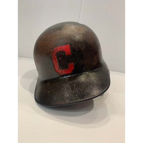 Photo of Francisco Lindor Team Issued Batting Helmet - 2018 Postseason