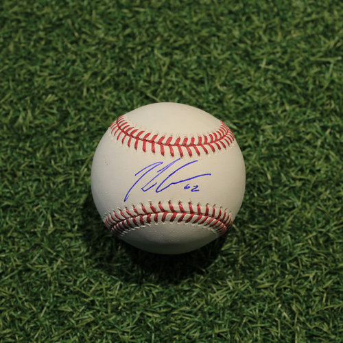 Photo of Autographed Baseball: Conner Greene
