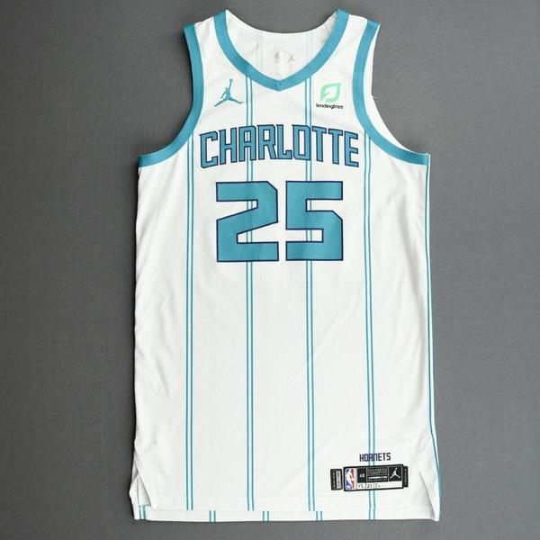 Image of P.J. Washington - Charlotte Hornets - Kia NBA Tip-Off 2020 - Game-Worn Association Edition Jersey