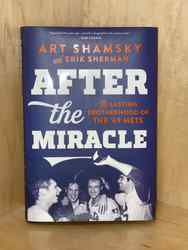 Photo of After The Miracle Signed By Four 1969 Mets