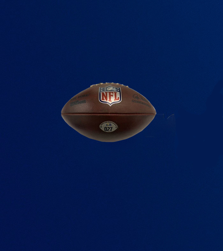 """Photo of Authentic """"The Duke"""" Game Used Football (9/19/2021 VS. Indianapolis Colts)"""