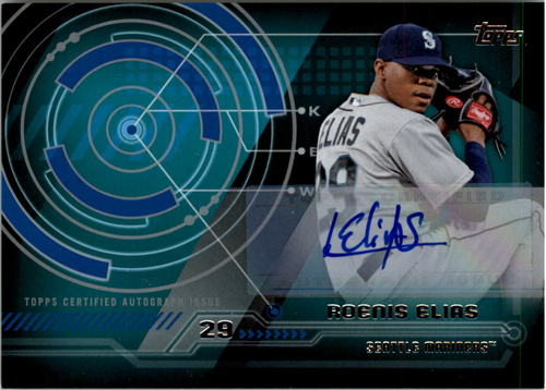 Photo of 2014 Topps Trajectory Autographs #TARE Roenis Elias UPD