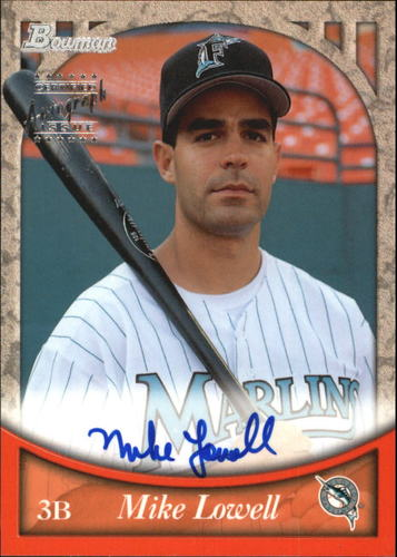 Photo of 1999 Bowman Autographs #BA43 Mike Lowell S