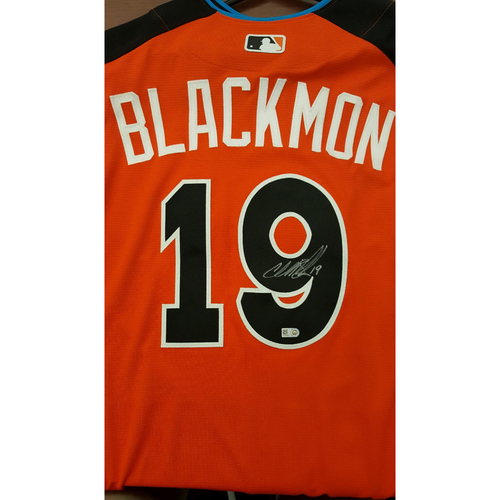 Charlie Blackmon 2017 Major League Baseball Workout Day/Home Run Derby Autographed Jersey
