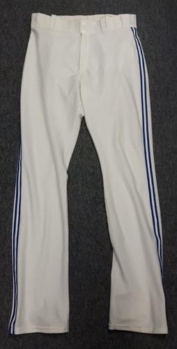 Authenticated Team Issued White Pants - #52 Ryan Tepera (2015 Season). Size 35-42 36 OB.