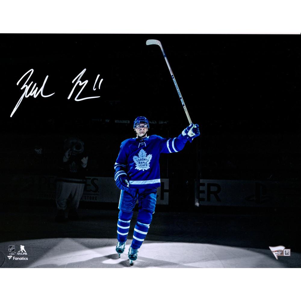 Zach Hyman Toronto Maple Leafs Autographed 11