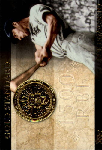 Photo of 2012 Topps Gold Standard #GS18 Joe DiMaggio