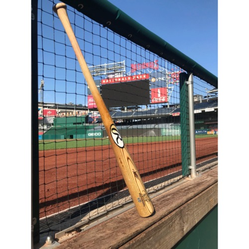 Photo of Adam Eaton Autographed Bat