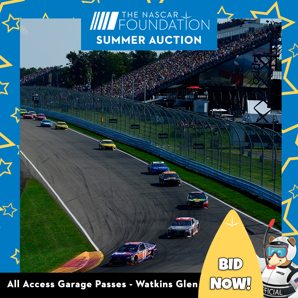 All Access Garage Passes at Watkins Glen benefitting The Paralyzed Veterans of America!